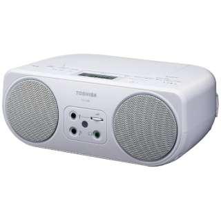TY-C200 CDラジオ ホワイト [ワイドFM対応]