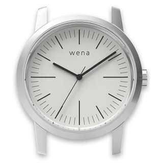 ハイブリッドスマートウォッチ wena wrist Three Hands White Head WN-WT01W-H
