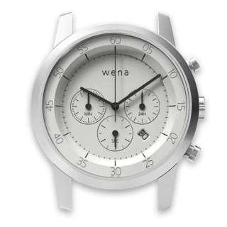 ハイブリッドスマートウォッチ ヘッド Chronograph ホワイト WN-WC01W-H