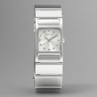 ウェラブル端末 「wena wrist Square Silver」 WN-WT11S