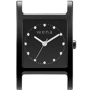 wena wrist交換用ヘッド 「wena wrist Square Premium Black Head」 WN-WT11B-H