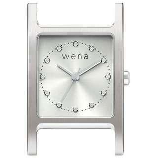 wena wrist交換用ヘッド 「wena wrist Square Silver Head」 WN-WT11S-H