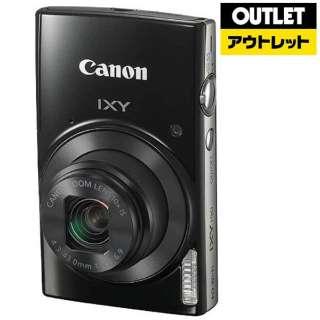 【アウトレット品】 コンパクトデジタルカメラ  IXY190 ブラック 【生産完了品】