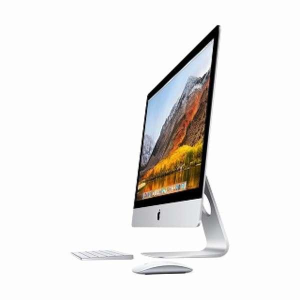 iMac 27インチ Retina 5Kディスプレイモデル[2017年/Fusion 1TB/メモリ 8GB/3.5GHz4コア Core i5]MNEA2J/A