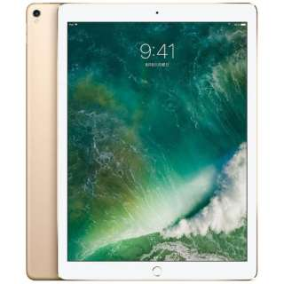 iPad Pro 12.9インチ Retinaディスプレイ Wi-Fiモデル MP6J2J/A (256GB・ゴールド)