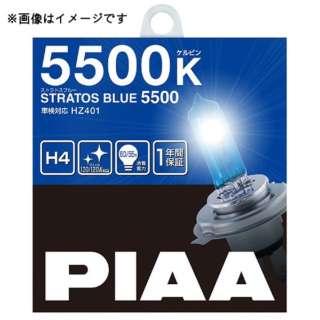 ストラスブルー 6000K H4 HZ501