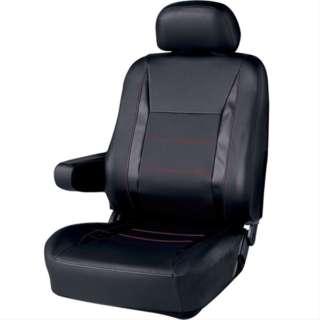 シートカバーコンペティション 前席用1枚 4180-50BK ブラック