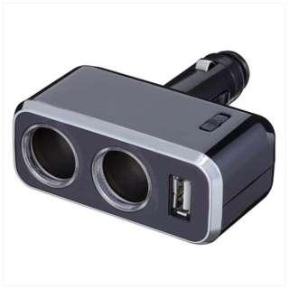 イルミソケットD2 USB 1.2A FIZZ-966