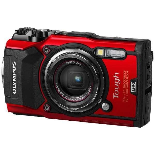 TG-5 コンパクトデジタルカメラ Tough(タフ) レッド [防水+防塵+耐衝撃]