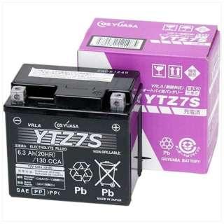 バイク用バッテリー 液入充電済ミ YTZ7S