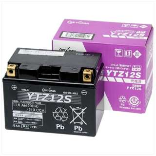 バイク用バッテリー 液入充電済ミ YTZ12S