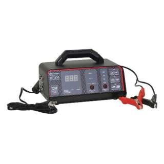 バッテリー充電器 DC12V用  開放型・密閉型鉛バッテリー対応 定格出力:12A  オート充電方式 バッテリー充電可不可診断機能付 全ての12Vバッテリーに最適 SC-1200