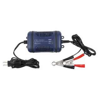 バッテリー充電器 DC12V用 開放型・密閉型鉛バッテリー対応 定格出力:4A  オート充電方式 自動2輪~軽自動車ニ最適 PC-100