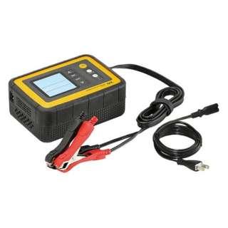 12V 12A バッテリー診断機能付 全自動バッテリー充電器