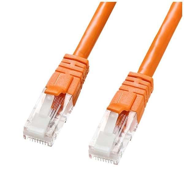 KB-T6TS-03D LANケーブル オレンジ [3m /カテゴリー6]