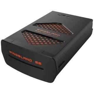 【S6専用】 1400mAh 7.6V Li-Poバッテリー(ブラック/オレンジ)LS303000174