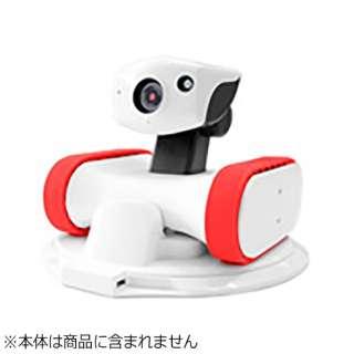 移動型カメラ付きロボット 「アボットライリー(appbot RILEY) RILEY-17 交換用シリコンベルト」 シリコンベルトアカ (レッド)
