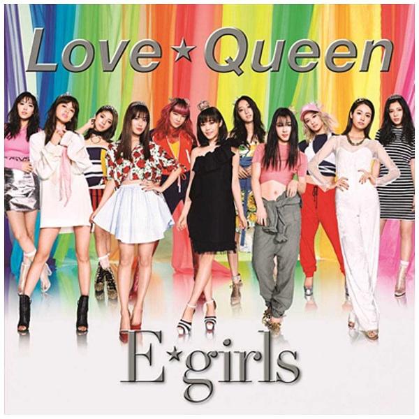 E-girls/Love ☆ Queen(DVD付) 【CD】