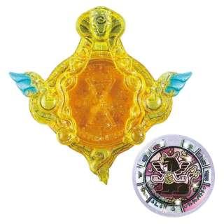 妖怪ウォッチ 秘宝妖怪エンブレム&カセキメダルセット01 クレクレパトラ