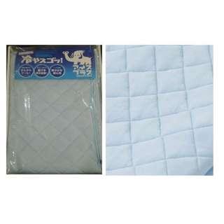 【涼感パッド】西川 しっかりひんやり冷感敷パッド セミダブルサイズ(120×205cm/ブルー)
