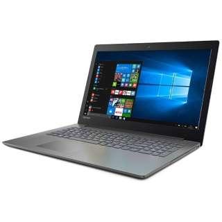 80XH006BJP ノートパソコン Ideapad (アイデアパッド )320 オニキスブラック [15.6型 /intel Core i3 /HDD:1TB /メモリ:4GB /2017年6月モデル]