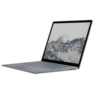 Surface Laptop[13.5型/SSD:256GB /メモリ:8GB /IntelCore i5/プラチナ/2017年7月モデル]DAG-00059 ノートパソコン サーフェス ラップトップ