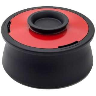 ≪IH対応≫ カーボン製両手鍋 「POT VOL.」(2.1L) VO001IR イタリアンレッド