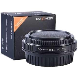 レンズマウントアダプター KF-FDEF (ボディ側:キヤノンEF、レンズ側:キヤノンFD) KF-FDEF