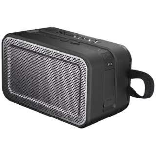 S7PDW-J582-I ブルートゥース スピーカー Barricade XL ブラック [Bluetooth対応 /防水]