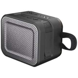 S7PCW-J582 ブルートゥース スピーカー Barricade ブラック [Bluetooth対応 /防水]