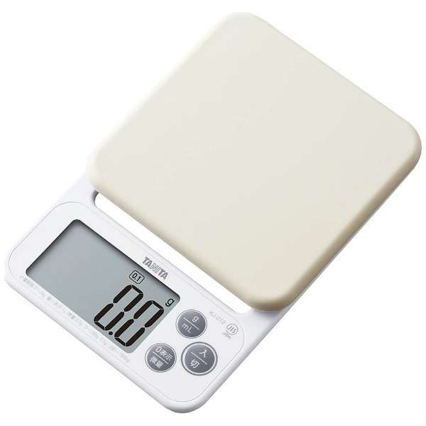 デジタルクッキングスケール (2kg) KJ-212-WH ホワイト