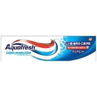 アクアフレッシュ(Aquafresh) 歯磨き粉 クリアミント 35g