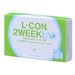 エルコン2ウィーク UV(6枚入)[2WEEK・2週間使い捨てコンタクトレンズ] [5%ポイントサービス]