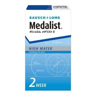 【まとめ買いでお得】 メダリストII(6枚入)[2WEEK・2週間使い捨てコンタクトレンズ] [5%ポイントサービス]