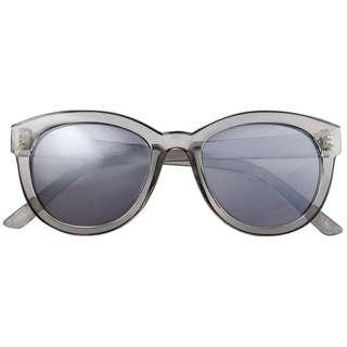 ファッションサングラス(スモーク/スモークフラッシュミラー)7857-03