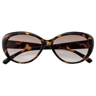 ファッションサングラス 7832-02(ブラウンデミ/ブラウンハーフ)