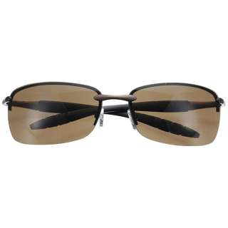 ファッションサングラス(マットブラウン/ブラウン)6516-02