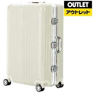 【アウトレット品】 フレームタイプスーツケースBLADE (71L )5601-64H071IVアイボリー 【数量限定品】