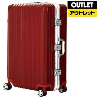 【アウトレット品】 フレームタイプスーツケースBLADE (71L)5601-64H071RD レッド 【数量限定品】