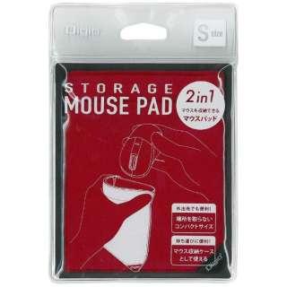 MUP-919R マウスパッド Sサイズ レッド [150×120×8.5mm]