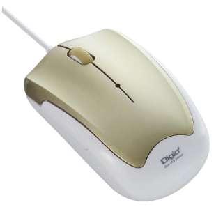 MUS-UKT124GL マウス Digio2 ゴールド [BlueLED /3ボタン /USB /有線]