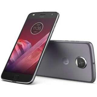 Moto Z2 Playルナグレー「AP3835AC3J4」 Snapdragon 626 5.5型・メモリ/ストレージ:4GB/64GB nanoSIMx2 ドコモ/YmobileSIM対応 SIMフリースマートフォン