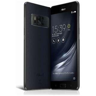 ZenFone AR(ZS571KL)ブラック「ZS571KL-BK128S8」 Snapdragon 821 5.7型・メモリ/ストレージ:8GB/128GB nanoSIMx1 nanoSIM or micro SDx1 ドコモ/au/Ymobile SIM対応 DSDS対応 SIMフリースマートフォン