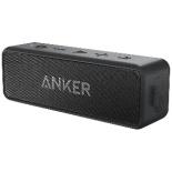 Anker SoundCore 2 ブルートゥーススピーカー Bluetooth4.2 A3105011 ブラック [防水]