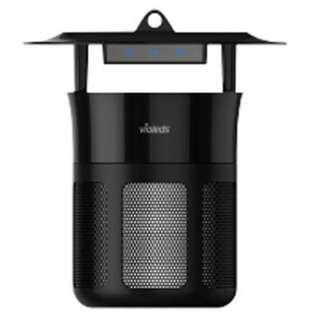 [捕虫器]UV-LED蚊取り器  MOSクリーン IS1 BK(ブラック)