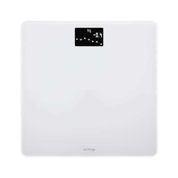 WBS06-WHITE-ALL-JP 体重計 Body [デジタル]