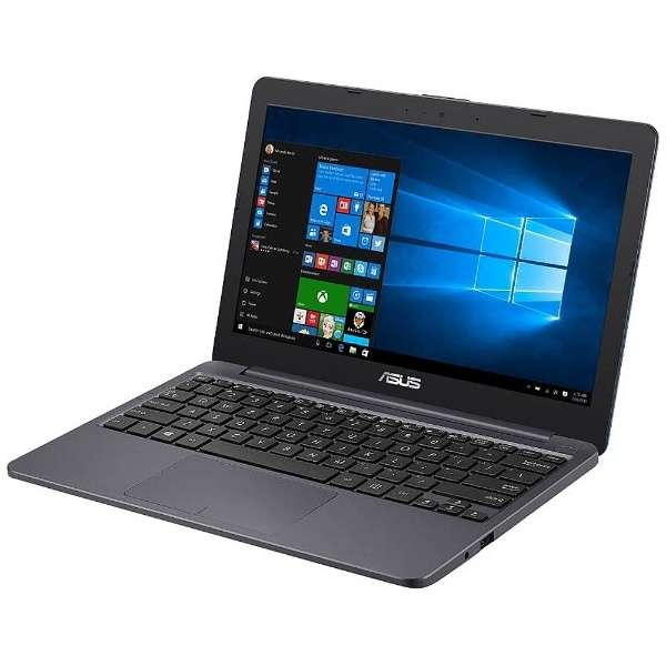 11.6型ノートPC[Win10 Home・Celeron・eMMC 32GB・メモリ 2GB] ASUS VivoBook E203NA スターグレー E203NA-232G (2017年6月モデル)