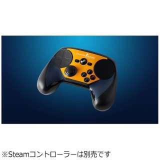 Steamコントローラー用 交換用シート CSGO ブルー/オレンジ V001080-00