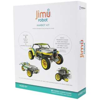 Jimu robot KarBot Kit〔ロボットキット プログラミング学習: iOS/Android対応〕【STEM教育】