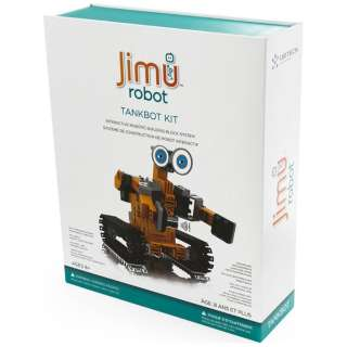 Jimu robot TankBot Kit〔ロボットキット プログラミング学習: iOS/Android対応〕【STEM教育】